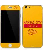 Kansas City Chiefs Yellow Performance Series iPhone 6/6s Skin