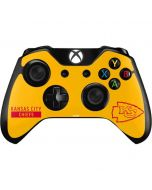 Kansas City Chiefs Yellow Performance Series Xbox One Controller Skin
