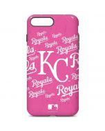 Kansas City Royals - Pink Cap Logo Blast iPhone 7 Plus Pro Case