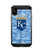Kansas City Royals Digi Camo iPhone XS Max Cargo Case