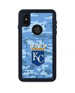 Kansas City Royals Digi Camo iPhone XS Waterproof Case