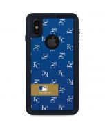 Kansas City Royals Full Count iPhone XS Waterproof Case