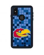 Kansas Jayhawks Digi iPhone XS Waterproof Case