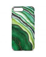 Kiwi Watercolor Geode iPhone 7 Plus Pro Case