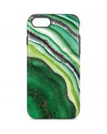 Kiwi Watercolor Geode iPhone 8 Pro Case