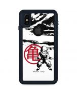 Krillin Wasteland iPhone XS Waterproof Case