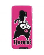 Kuromi Bold Print Galaxy S9 Plus Pro Case