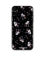 Kuromi Crown iPhone XS Max Skin