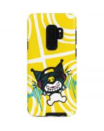 Kuromi Rocker Girl Yellow Stereos Galaxy S9 Plus Pro Case