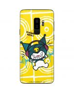 Kuromi Rocker Girl Yellow Stereos Galaxy S9 Plus Skin