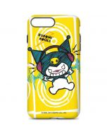 Kuromi Rocker Girl Yellow Stereos iPhone 8 Plus Pro Case
