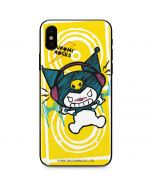 Kuromi Rocker Girl Yellow Stereos iPhone XS Max Skin