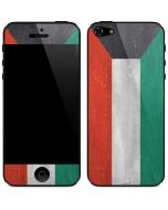 Kuwait Flag Distressed iPhone 5/5s/SE Skin
