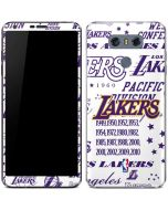 LA Lakers Historic Blast LG G6 Skin
