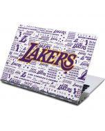 LA Lakers Historic Blast Yoga 910 2-in-1 14in Touch-Screen Skin