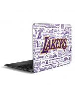 LA Lakers Historic Blast Zenbook UX305FA 13.3in Skin