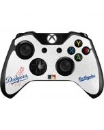 Large Vintage Dodgers Xbox One Controller Skin