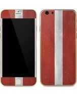 Latvia Flag Distressed iPhone 6/6s Skin