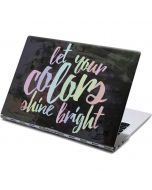 Let Your Colors Shine Bright Yoga 910 2-in-1 14in Touch-Screen Skin