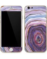 Lilac Watercolor Geode iPhone 6/6s Skin
