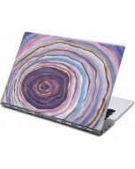 Lilac Watercolor Geode Yoga 910 2-in-1 14in Touch-Screen Skin