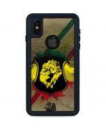 Lion of Judah Shield iPhone X Waterproof Case