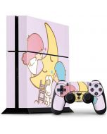Little Twin Stars Moon PS4 Console and Controller Bundle Skin
