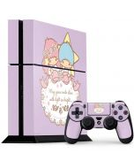 Little Twin Stars Shine PS4 Console and Controller Bundle Skin