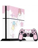 Little Twin Stars Wish Upon A Star PS4 Console and Controller Bundle Skin