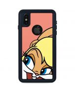 Lola Bunny Zoomed In iPhone XS Waterproof Case