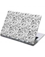 Looney Squad Black and White Grid Yoga 910 2-in-1 14in Touch-Screen Skin