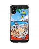 Looney Tunes Beach iPhone XS Max Cargo Case