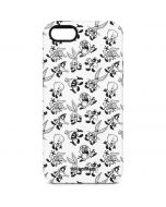 Looney Tunes Big Head Pattern iPhone 5/5s/SE Pro Case