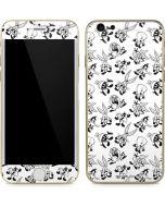 Looney Tunes Big Head Pattern iPhone 6/6s Skin