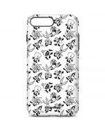 Looney Tunes Big Head Pattern iPhone 7 Plus Pro Case