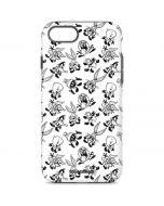 Looney Tunes Big Head Pattern iPhone 7 Pro Case