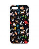 Looney Tunes Identity Pattern iPhone 5/5s/SE Pro Case