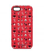 Looney Tunes Identity Red Pattern iPhone 5/5s/SE Pro Case