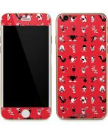 Looney Tunes Identity Red Pattern iPhone 6/6s Skin