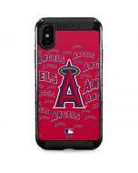 Los Angeles Angels - Cap Logo Blast iPhone XS Max Cargo Case