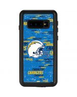 Los Angeles Chargers - Blast Galaxy S10 Waterproof Case