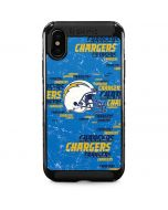 Los Angeles Chargers - Blast iPhone XS Max Cargo Case