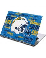 Los Angeles Chargers - Blast Yoga 910 2-in-1 14in Touch-Screen Skin
