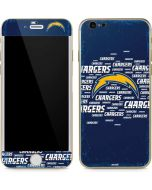Los Angeles Chargers Blue Blast iPhone 6/6s Skin