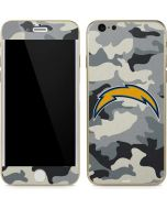 Los Angeles Chargers Camo iPhone 6/6s Skin