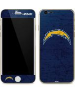 Los Angeles Chargers Distressed iPhone 6/6s Skin