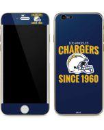 Los Angeles Chargers Helmet iPhone 6/6s Skin