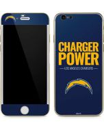 Los Angeles Chargers Team Motto iPhone 6/6s Skin