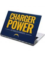 Los Angeles Chargers Team Motto Yoga 910 2-in-1 14in Touch-Screen Skin