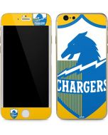 Los Angeles Chargers Retro Logo iPhone 6/6s Skin